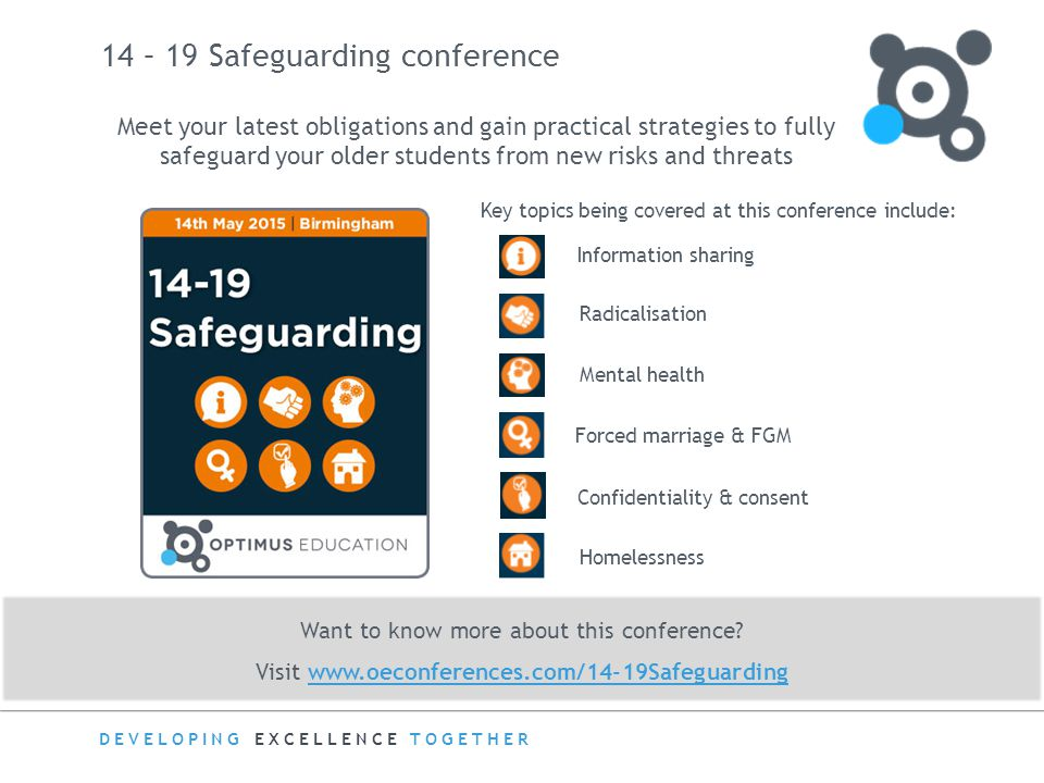 14 – 19 Safeguarding conference
