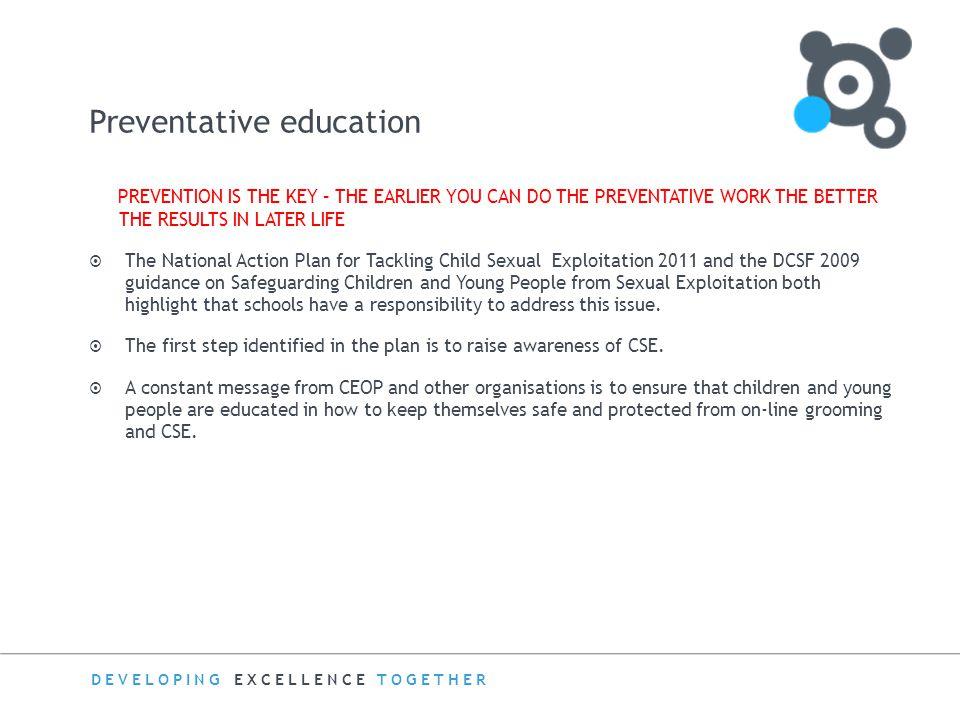 Preventative education