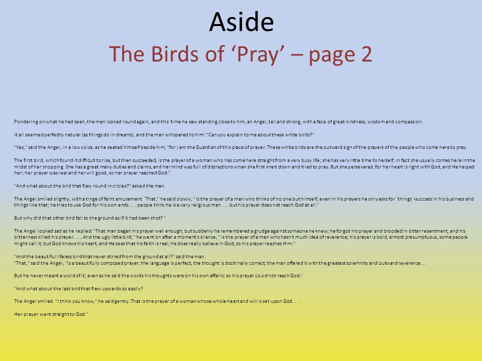 The Birds of 'Pray' – page 2
