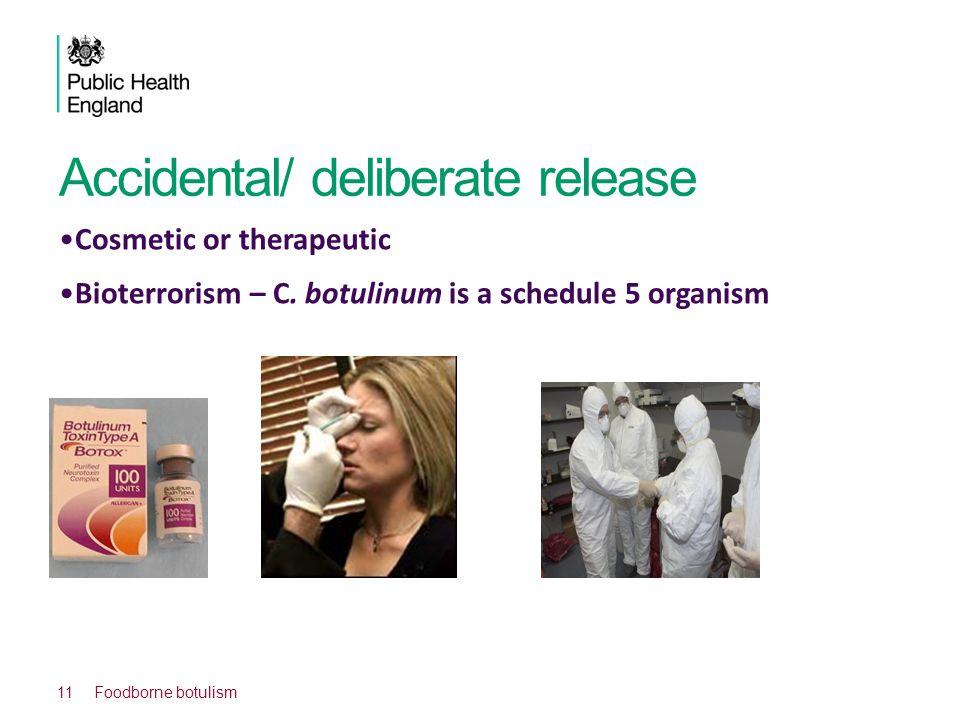 Accidental/ deliberate release