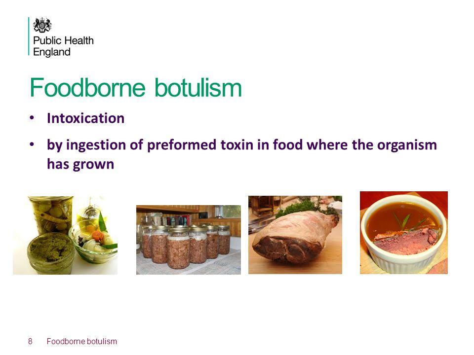 Foodborne botulism Intoxication