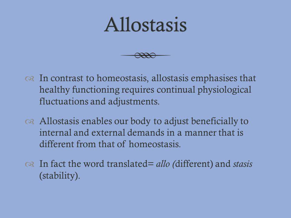 Allostasis