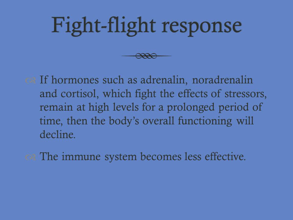 Fight-flight response
