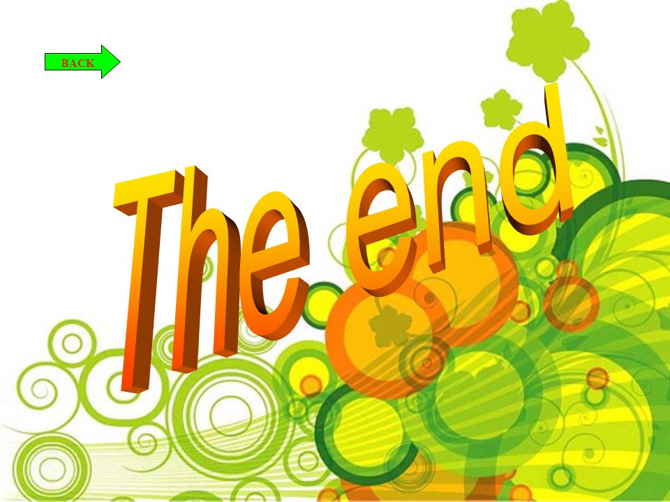 BACK The end