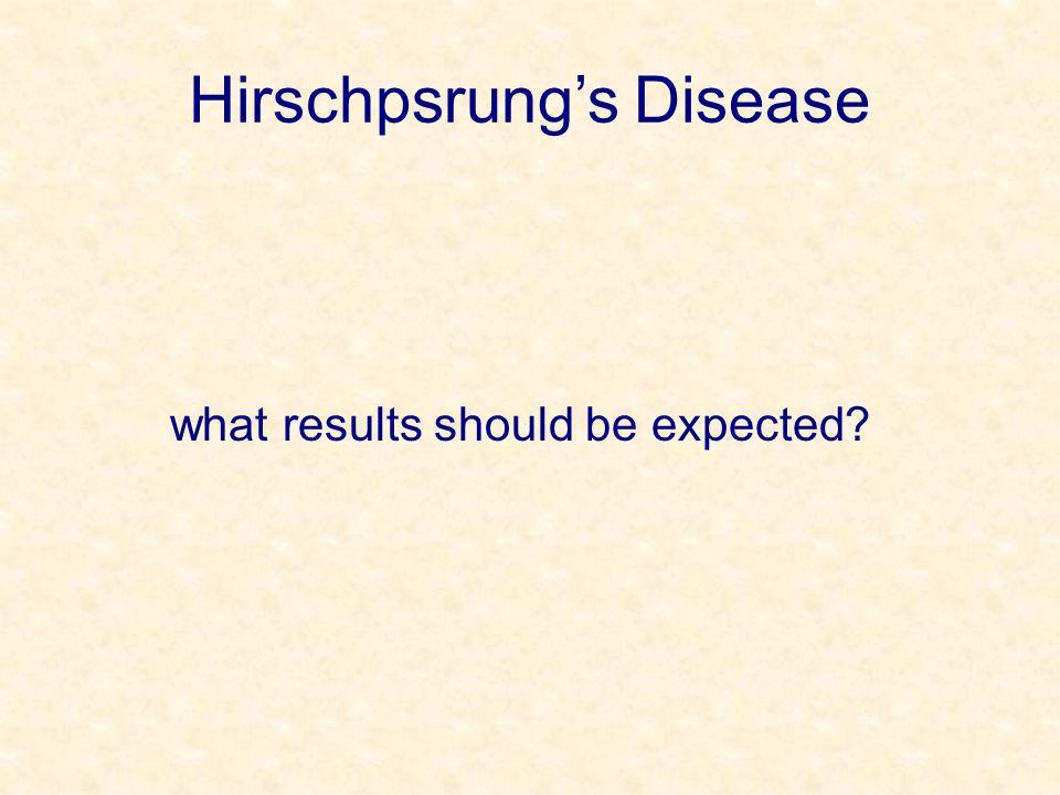 Hirschpsrung's Disease