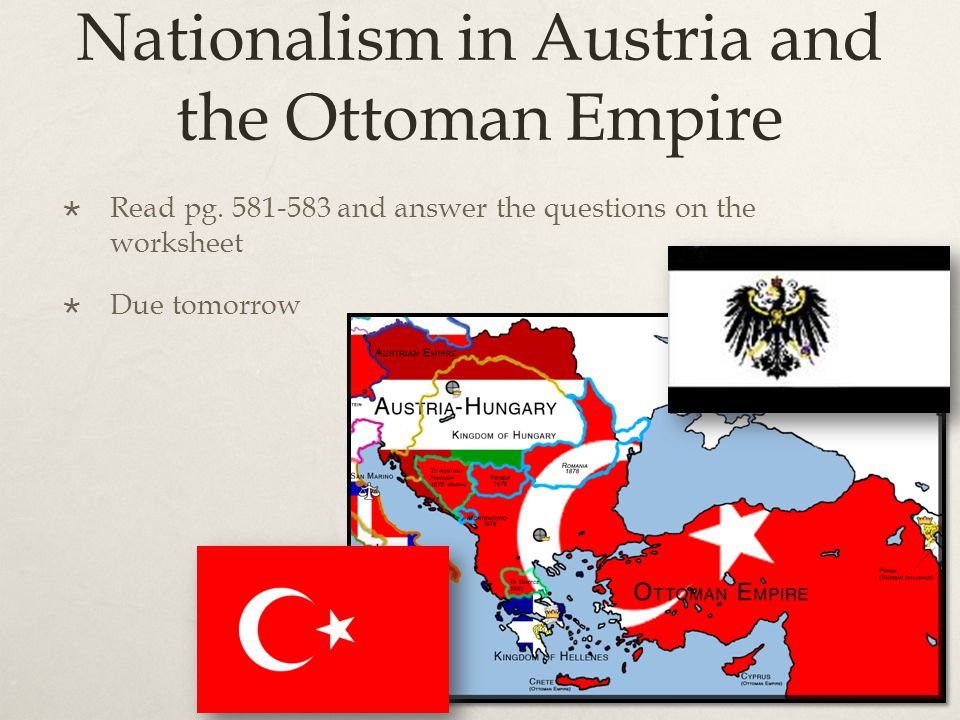 Nationalism in Austria and the Ottoman Empire