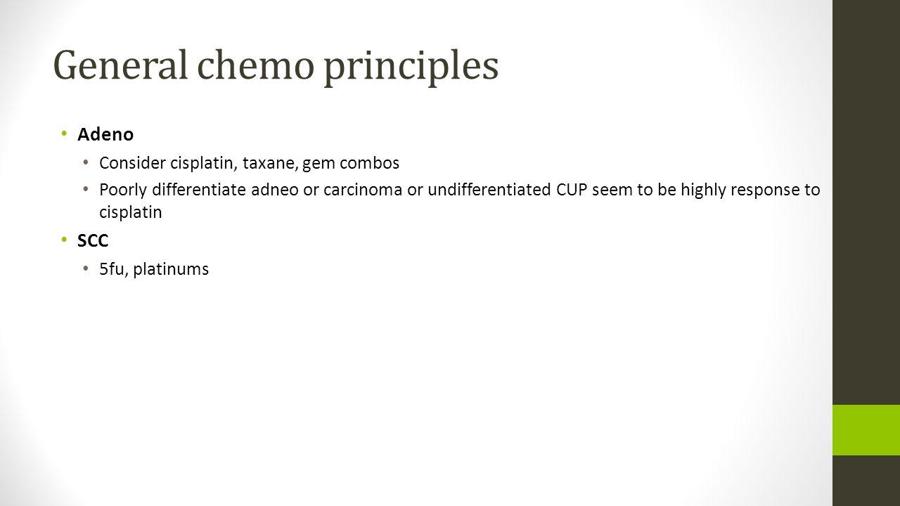 General chemo principles
