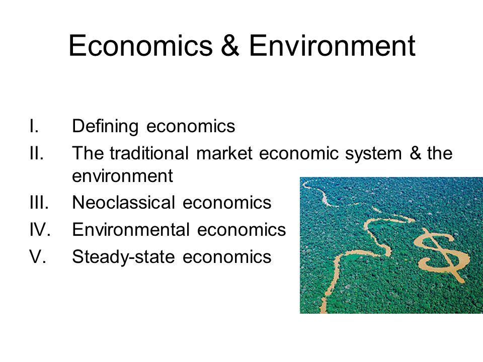 Economics & Environment