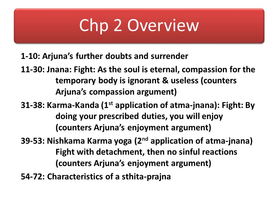 Chp 2 Overview