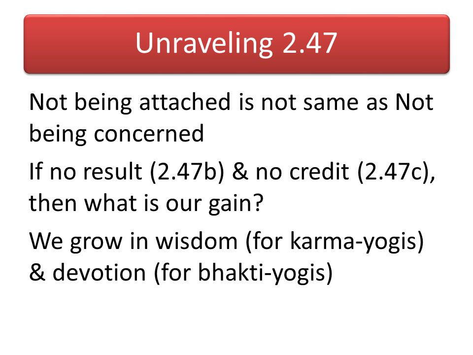 Unraveling 2.47