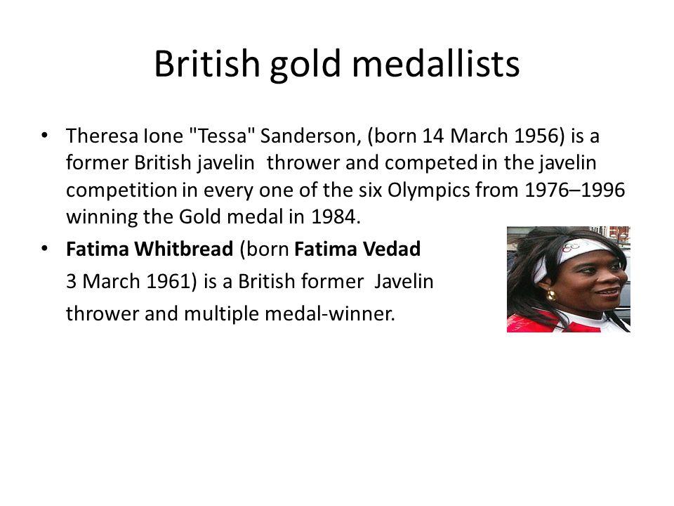 British gold medallists