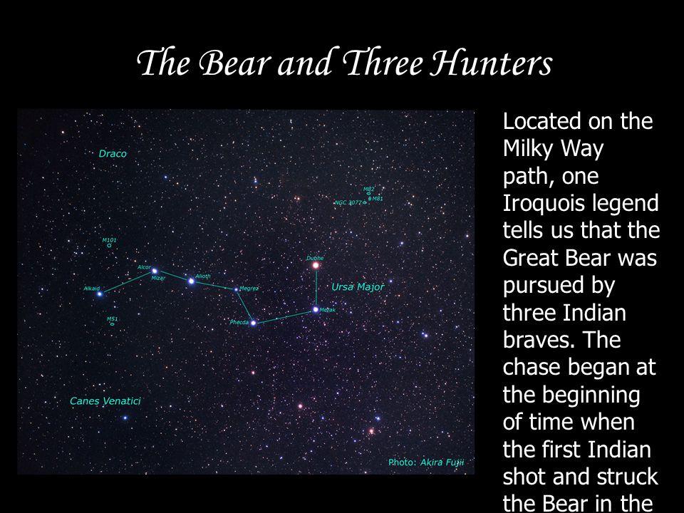 The Bear and Three Hunters