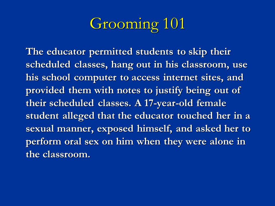 Grooming 101