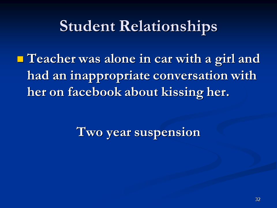 Student Relationships