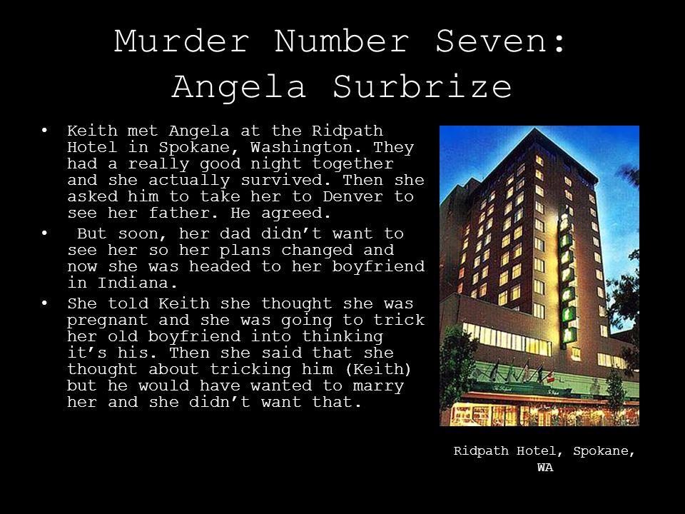 Murder Number Seven: Angela Surbrize