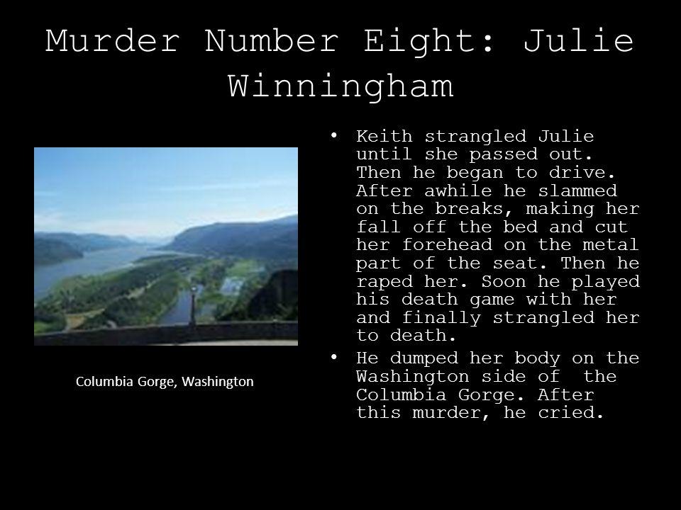 Murder Number Eight: Julie Winningham