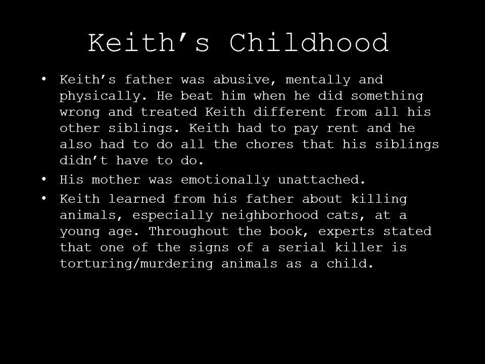 Keith's Childhood