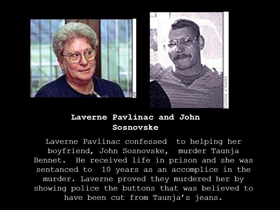 Laverne Pavlinac and John Sosnovske