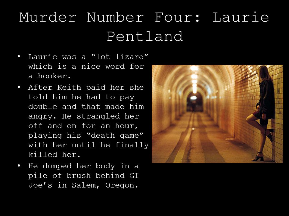 Murder Number Four: Laurie Pentland