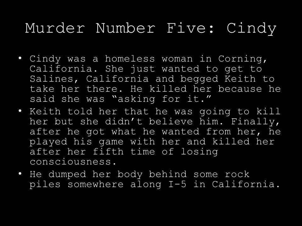 Murder Number Five: Cindy