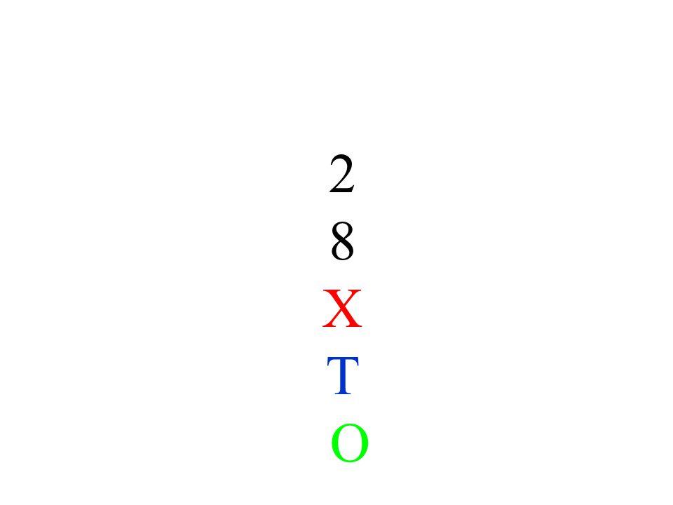 2 8 X T O