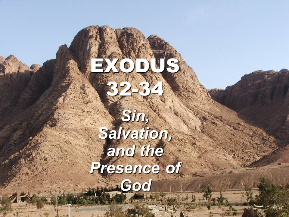 Sin, Salvation, and the Presence of God