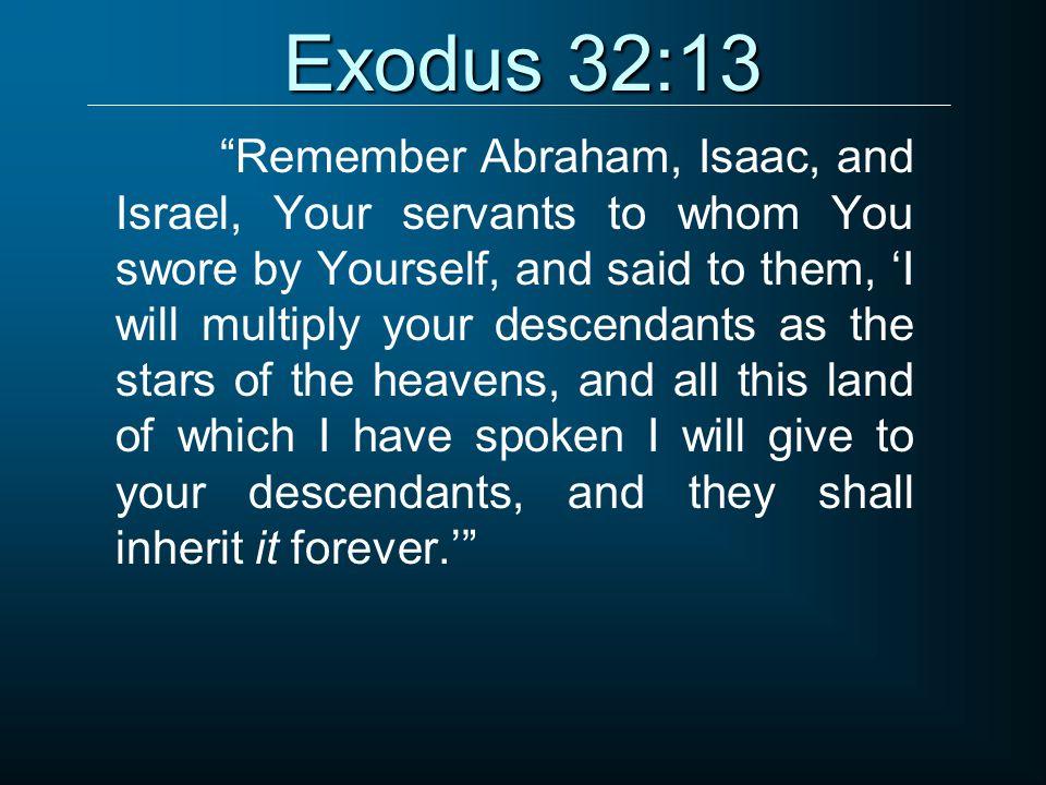 Exodus 32:13