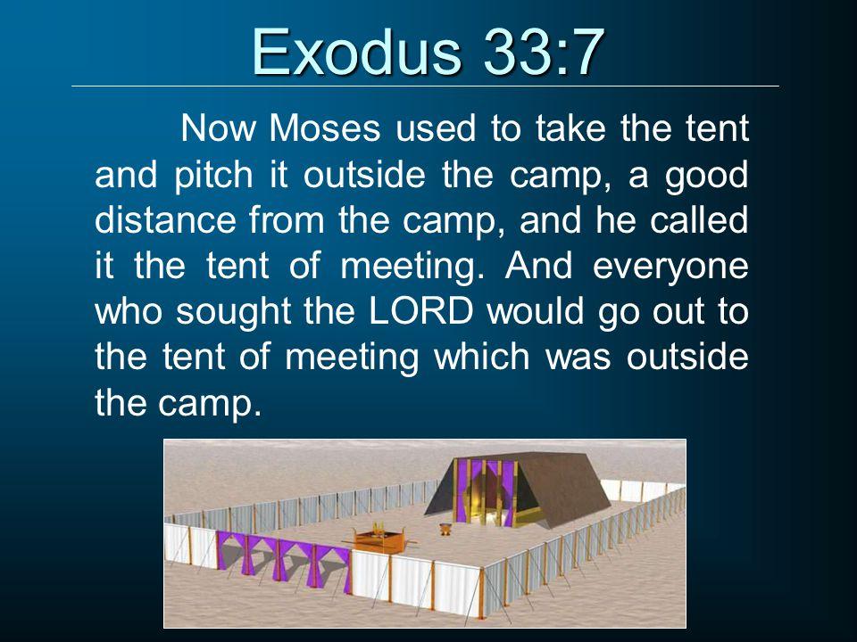 Exodus 33:7
