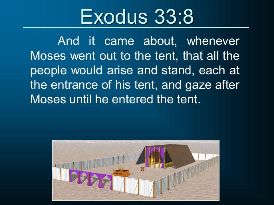Exodus 33:8