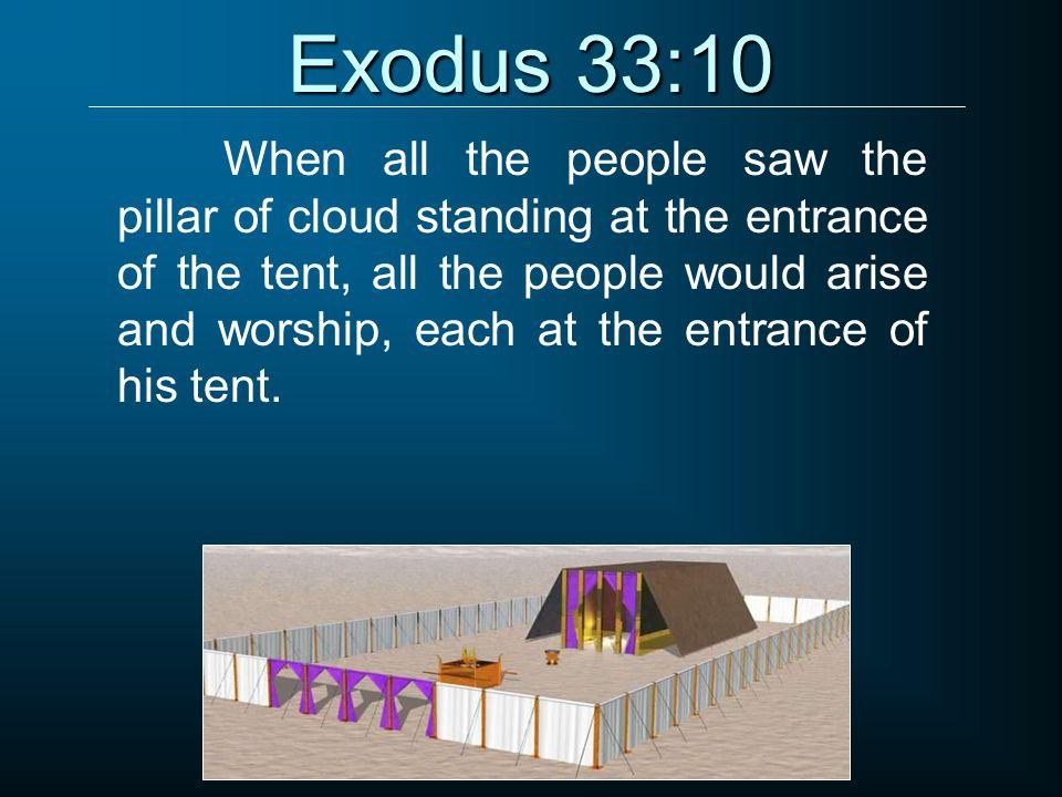 Exodus 33:10