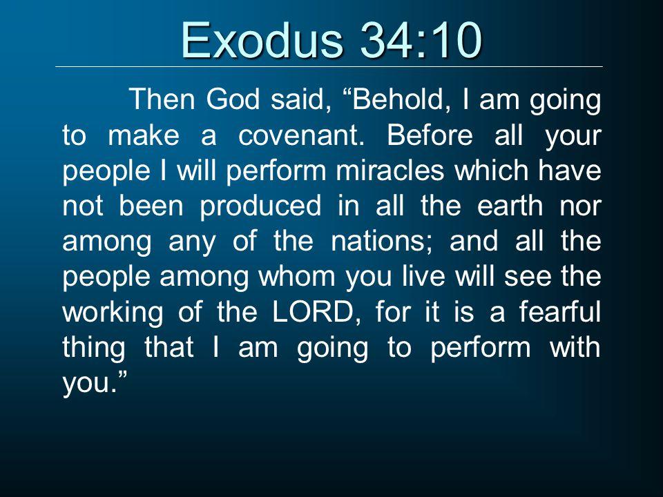 Exodus 34:10
