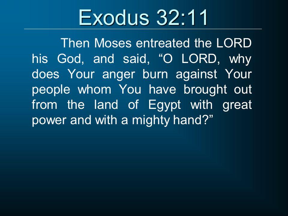 Exodus 32:11