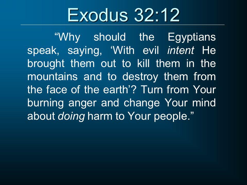 Exodus 32:12