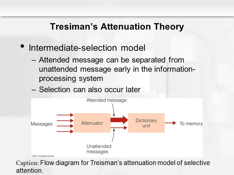 Tresiman's Attenuation Theory