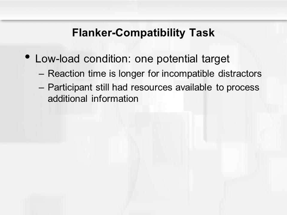 Flanker-Compatibility Task