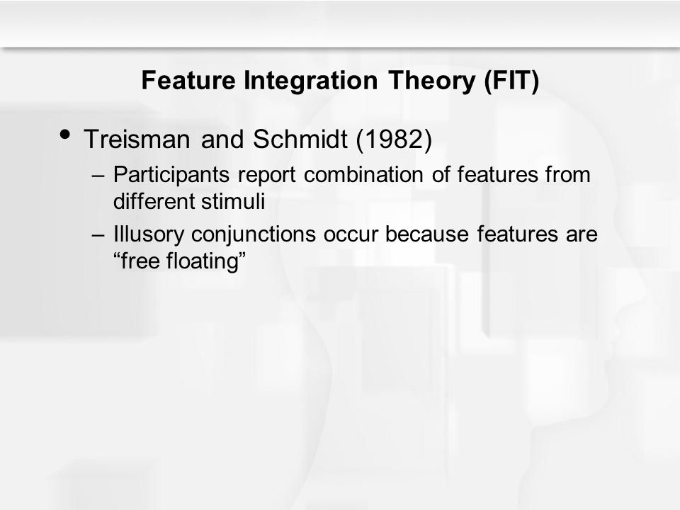 Feature Integration Theory (FIT)