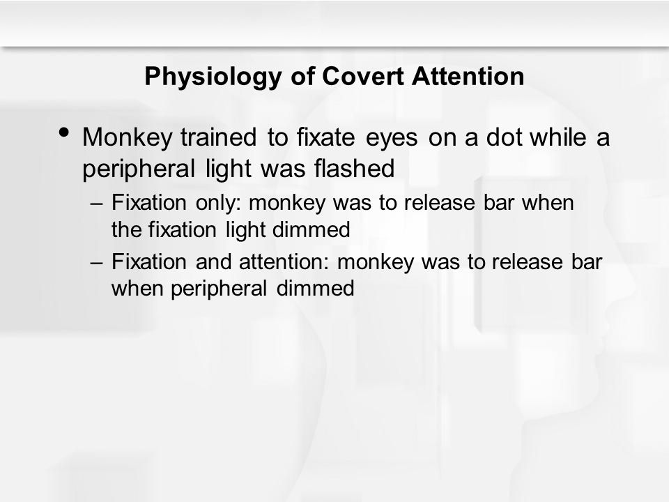 Physiology of Covert Attention
