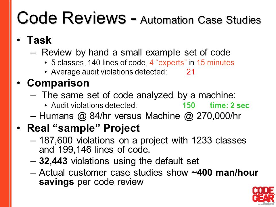 automated code review tools