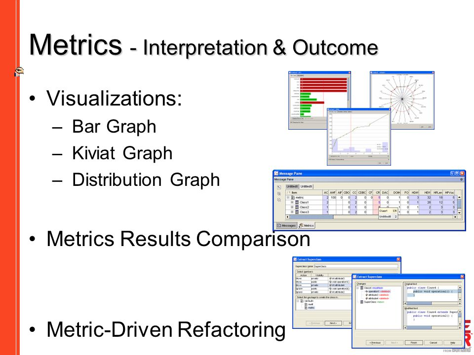 Metrics - Interpretation & Outcome