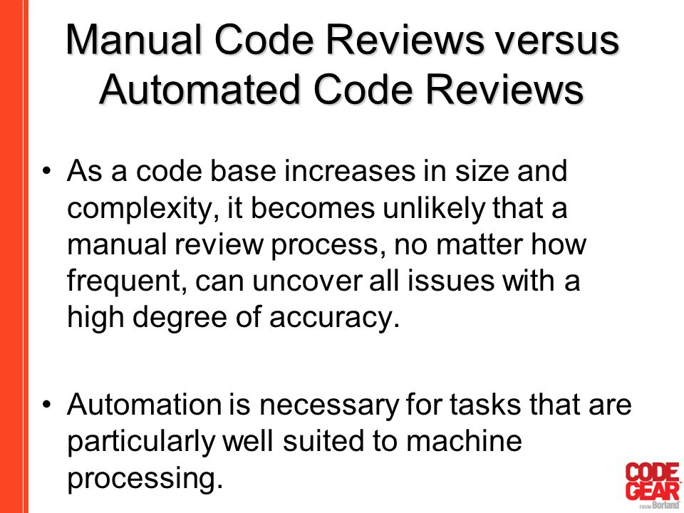 automated code review
