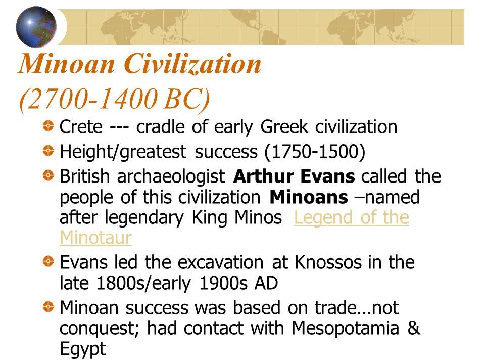 Minoan Civilization (2700-1400 BC)