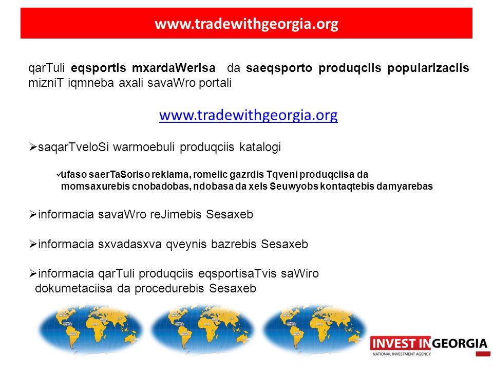 www.tradewithgeorgia.org www.tradewithgeorgia.org