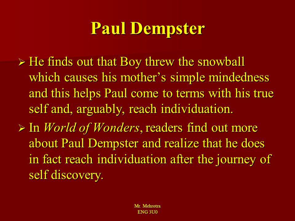 Paul Dempster