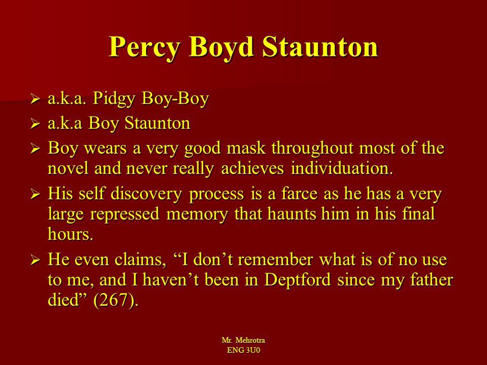 Percy Boyd Staunton a.k.a. Pidgy Boy-Boy a.k.a Boy Staunton