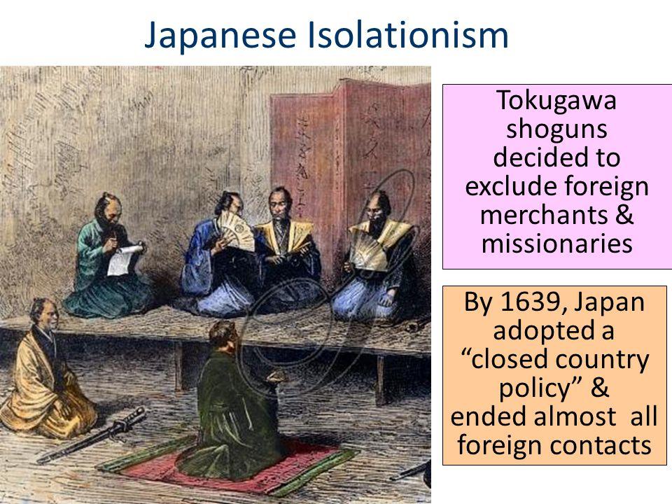 Japanese Isolationism