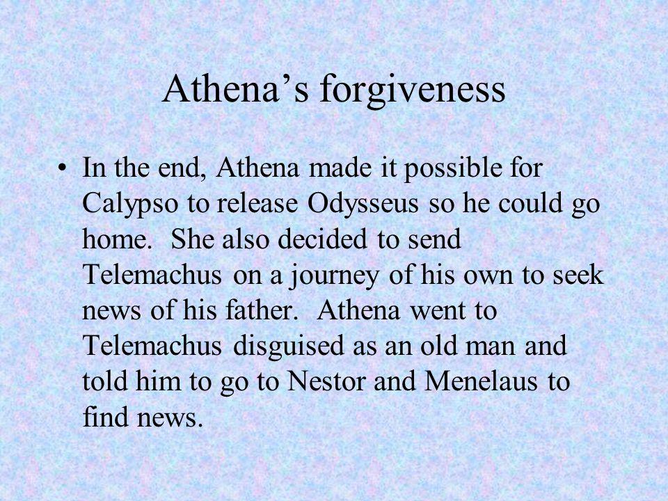 Athena's forgiveness