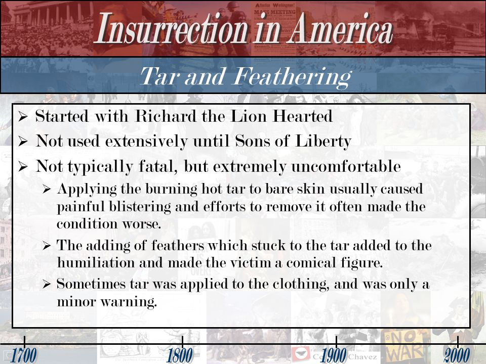 Tar and Feathering Started with Richard the Lion Hearted