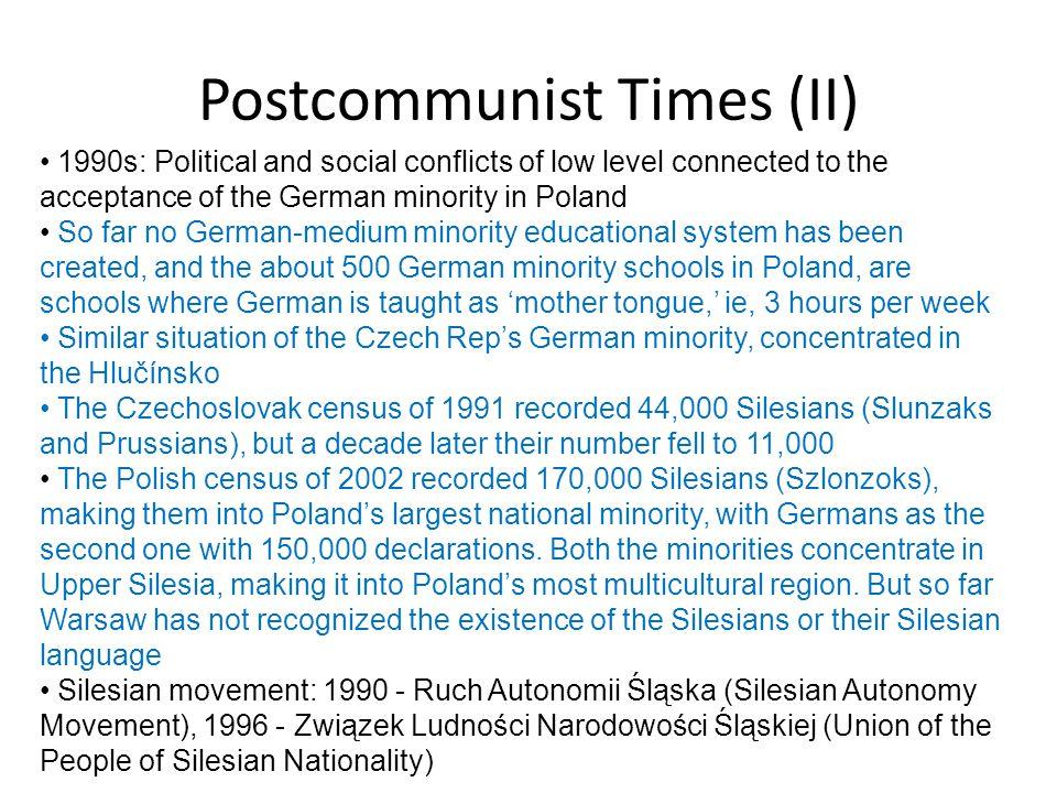 Postcommunist Times (II)