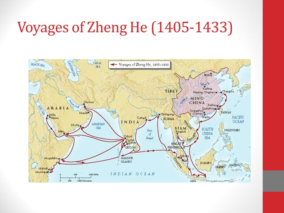 Voyages of Zheng He (1405-1433)