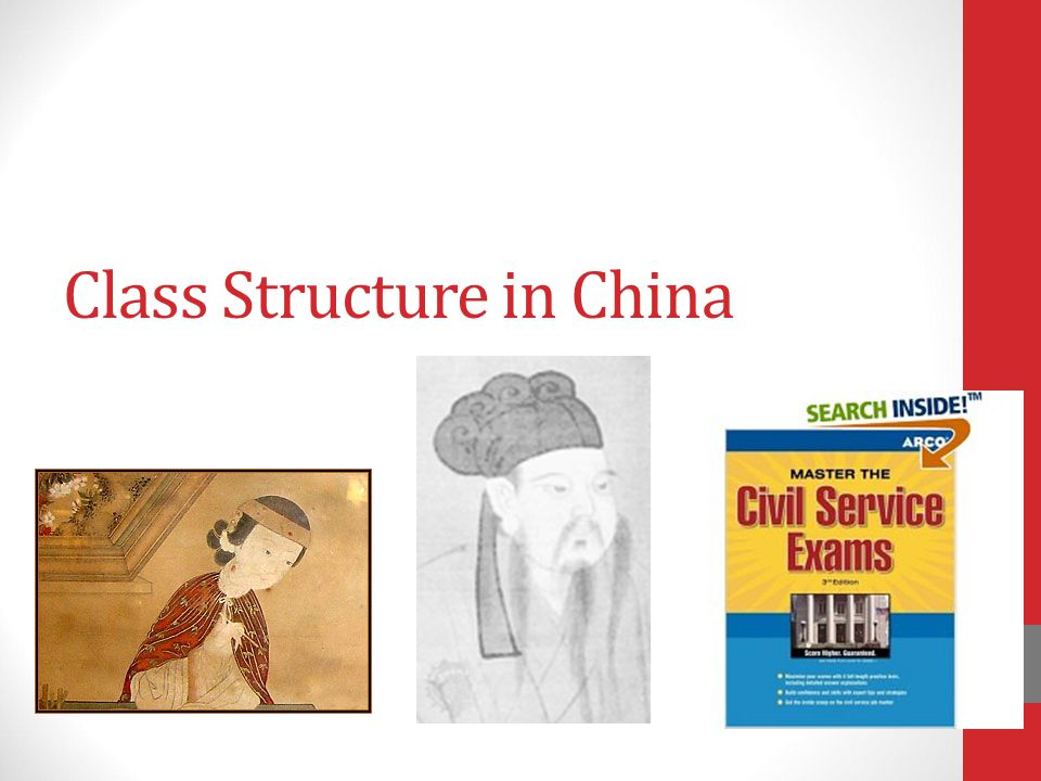 Class Structure in China